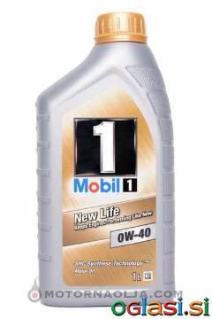MOTORNO OLJE MOBIL 1 NEW LIFE 0W-40
