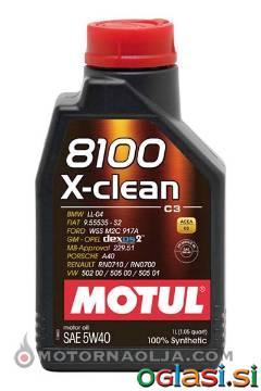 MOTORNO OLJE MOTUL 8100 X-CLEAN C3 5W-40