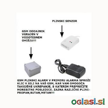 GSM ALARM PLINA KLIC V SILI NA VAŠ GSM
