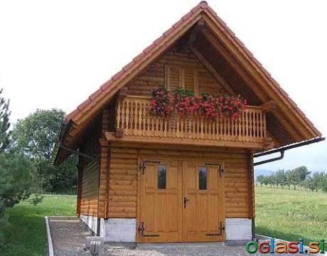 Garaže, lesene