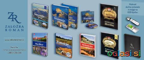 Knjiga SVETLOBA SLOVENIJE - SIGHTS & SONNETS FROM SLOVENIA