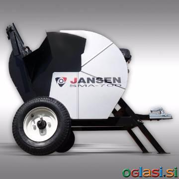Previsna motorna krožna žaga za drva Jansen SMA-700