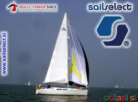 Sailselect - Rolly Tasker jadra, Genaker in Spinaker