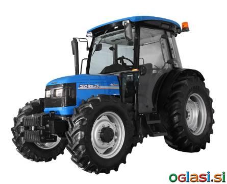 TRAKTOR SOLIS 75 4x4, KLIMA, CD RADIO
