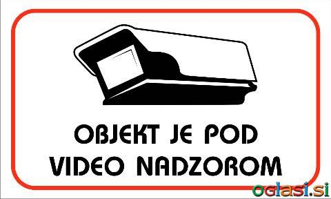 VIDEO NADZOR TABLE in NALEPKE
