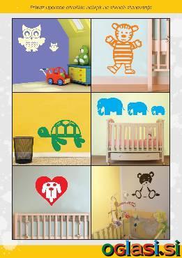 Otroške stenske nalepke