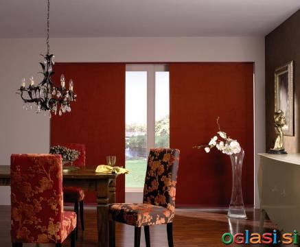 Panelne zavese in druga senčila