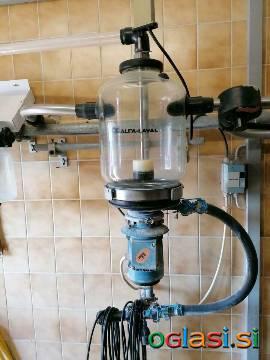 ALFA LAVAL zbiralnik mleka