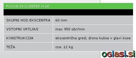 POGON EKSCENTER H 60