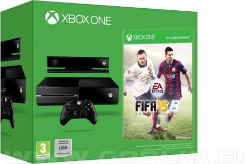Xbox One 500GB + Kinect 2.0 + FIFA 15