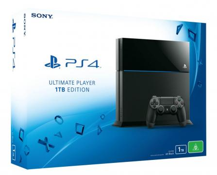 PlayStation 4 1000GB Ultimate Player Edition (PS4) + 2x kontroler + bon 20€