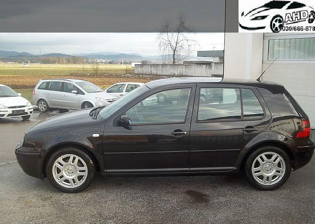 VW Golf Exclusive GTI 1.8 Turbo (5 vr.)