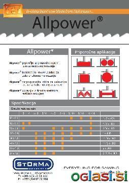 Tračni listi za kovino-ugodne cene/količinski popusti
