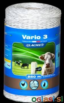 Vrvica za električnega pastirja (250m)