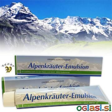 Alpska Zelišča Mazilo 200ml - Alpenkräuter Emulsion (C-1454)