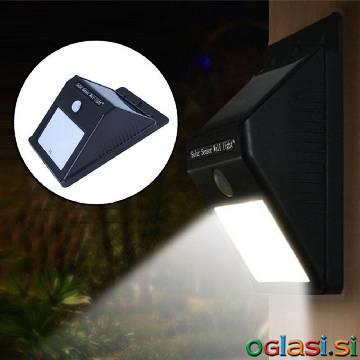Solarna zunanja senzorska luč