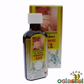 Zeliščno olje 111 Dr. Sachers