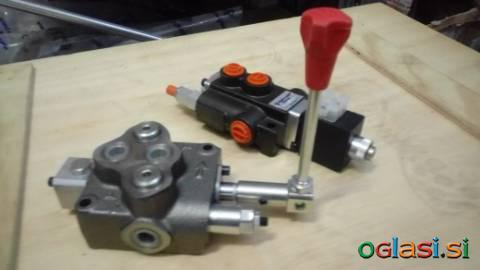 Hidravlični ventili za krmiljenje hidromotorjev
