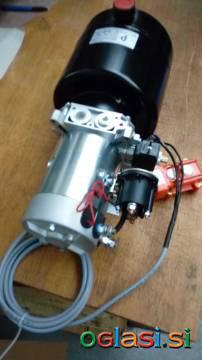 Mini hidravlični agregat za kiper 1,6 kW - 12V DC