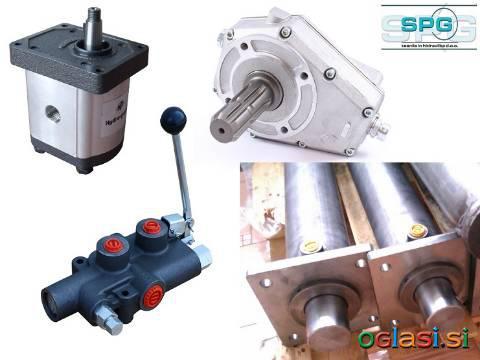 Komplet komponent za hidravlični cepilec drv - SPG d.o.o.