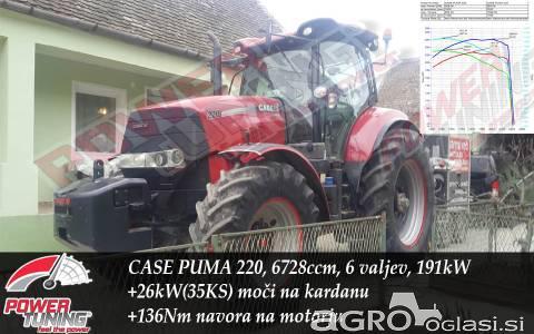 Čip tuning traktorja, remap traktorja večja moč in navor