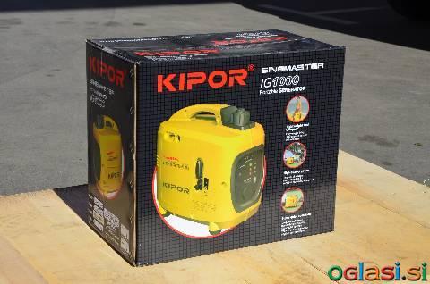 Bencinski generatorij KIPOR IG 1000, IG 2000S, IG 3000, KGE2500E, KGE6500E3