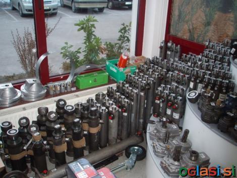 Hidravlične komponente za kmetijstvo