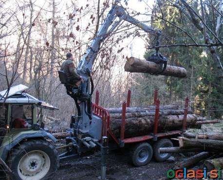 Gozdarsko dvigalo Icarbazzoli IB 6600