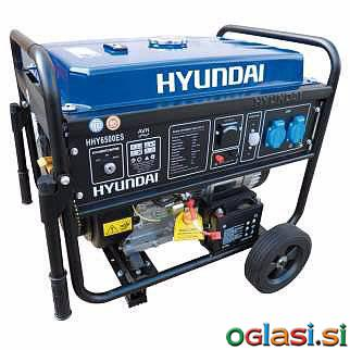 Next Agregat HYUNDAI POWER HY6500ES 5,5KW Agregat HYUNDAI POWER HY6500ES 5,5KW