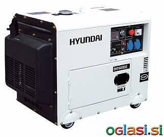 Next Agregat HYUNDAI POWER DHY6000SE 5,3 kW Diesel Agregat HYUNDAI POWER DHY600
