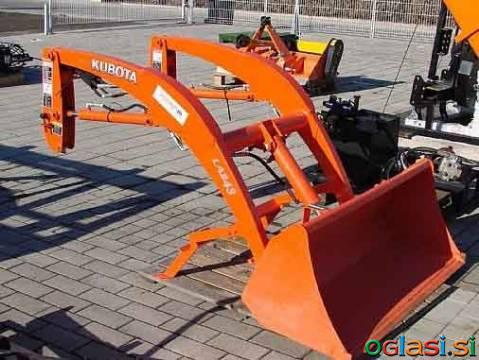Nakladalnik, čelni, za traktor Kubota BX