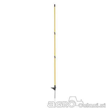 Stebrički za električnega pastirja s kovinsko špico S06M 152 cm – 10 kosov