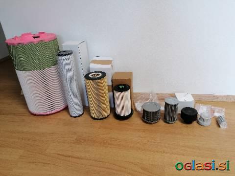 Set filtrov - filter za teptalni stroj - ratrak - teptalec
