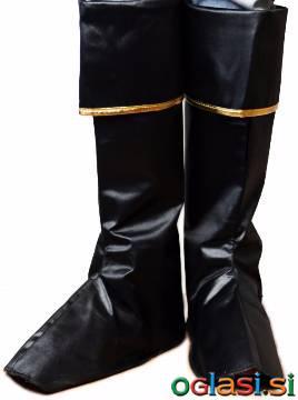 Božičkovi nad škornji z zlatim robom PB-DG2157
