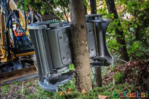 Škarje za les, hlodovino, biomaso (prijemalo / klešče / grajfer / grabež)