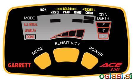 Detektor kovin Garrett ACE 150