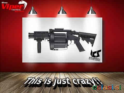 ICS Grenade Launcher - metalec granat