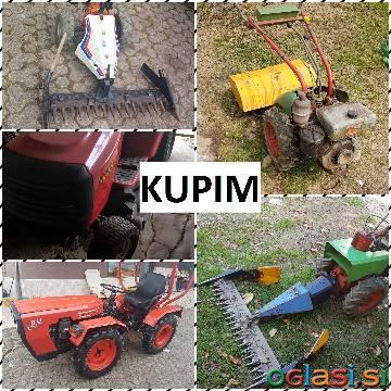 KUPIM VRTNE STROJE (motokultivator, traktor, freza...)