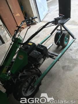 Voziček za motokultivator