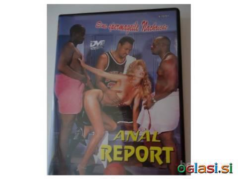 DVD film Analno poročilo (Porno Anal Report)