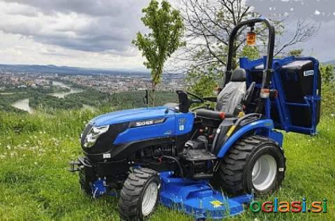 Traktor Solis 26 HIDROSTATIK + KOSILNICA + KOŠ