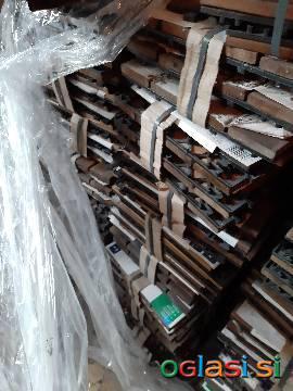 Talne plošče akacijev les na klik