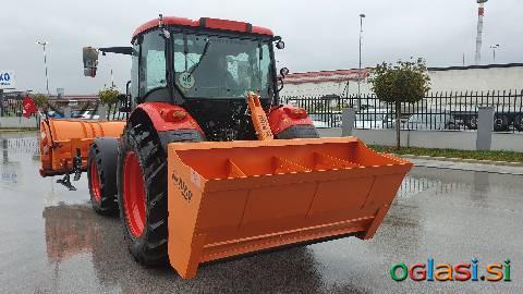 Samonakladalni traktorski posipalnik Riko TP 80/120