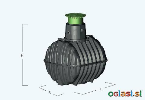 Retencijski rezervoar Carat