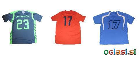 Tisk na športna oblačila