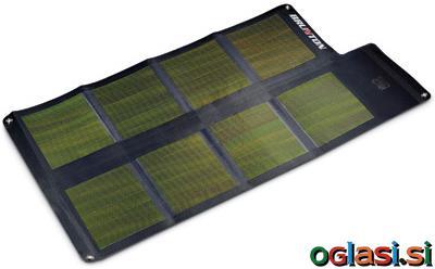 Solarne celice in shranjevalni akumulator BRU