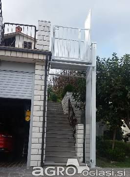 Hišno -invalidsko dvigalo po meri