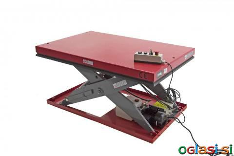 CLIMAX Stacionarna dvižna miza 2000 kg