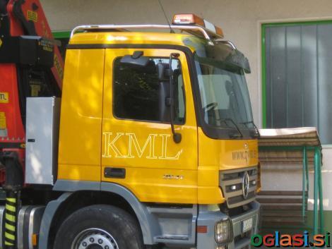 Cevna zaščita za tovorna vozila Mercedes