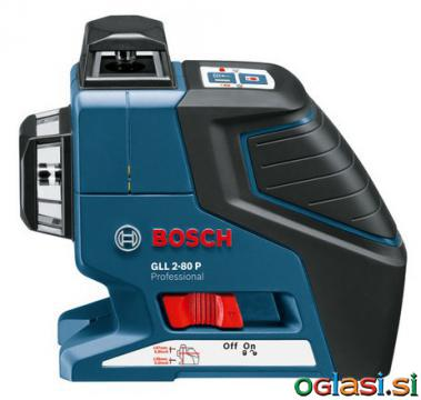 BOSCH GLL 2-80 P + BS 150 Professional